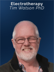 Speaker on APM live CPD broadcast - Electrotherapy - Tim Watson