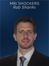 Live speaker for online CPD discussing MRI shockers by Rob Shanks