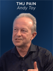 Speaker on online CPD broadcast -TMJ Pain - Andy Toy