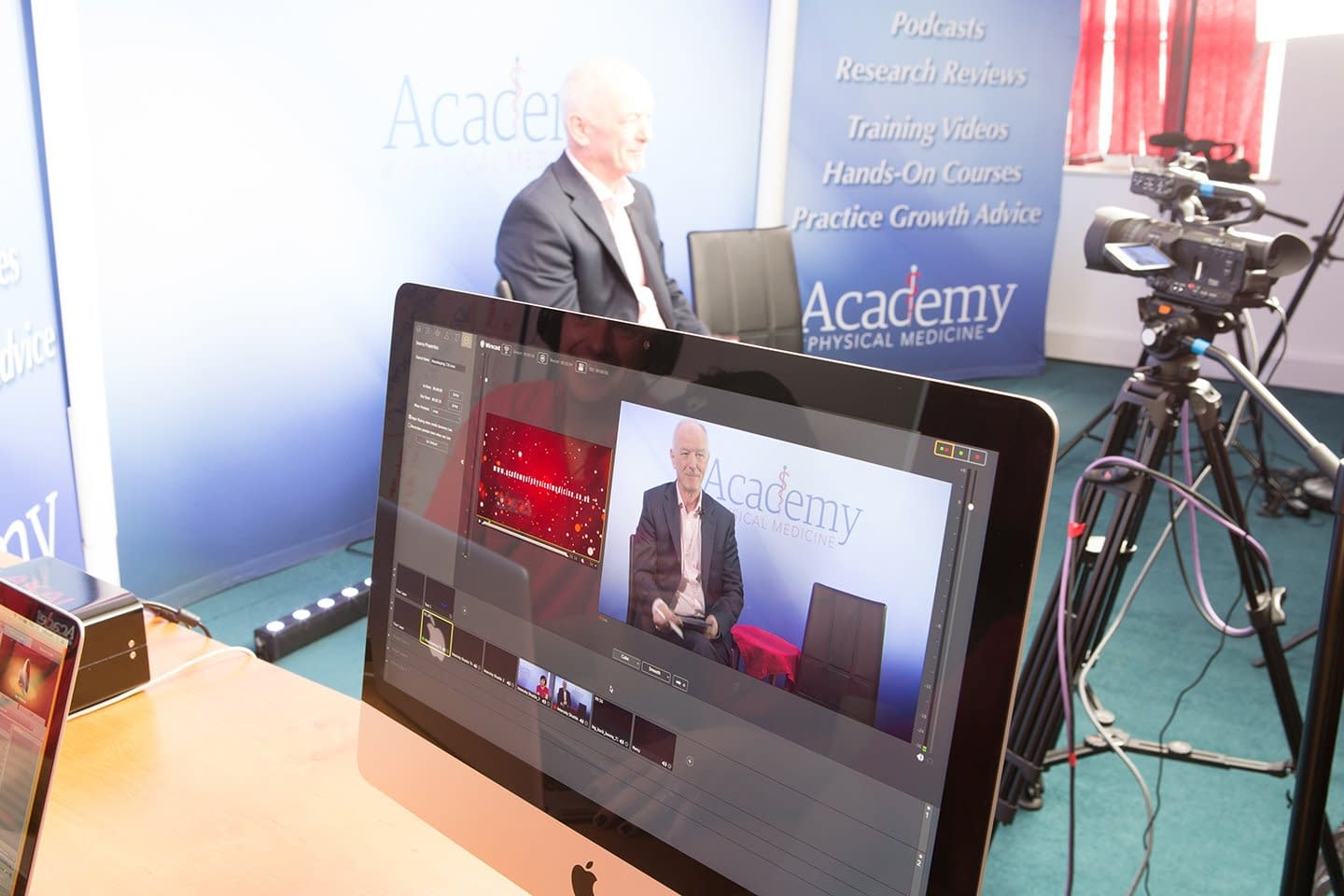 Live Online Osteopathic CPD Broadcast produced by Academy of Physical Medicine